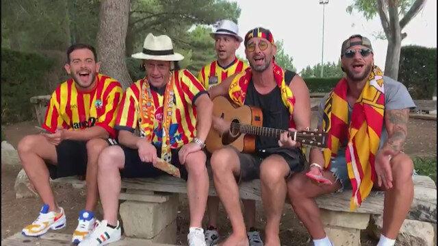 Lecce taraftarları Burak Yılmaz'a beste yaptı