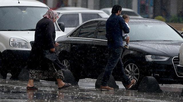 Meteorolojiden 15 ile yağış uyarısı