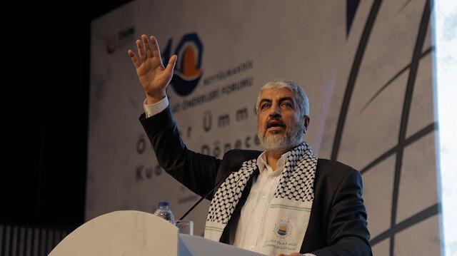 Hamas Siyasi Büro eski Başkanı Halid Meşal