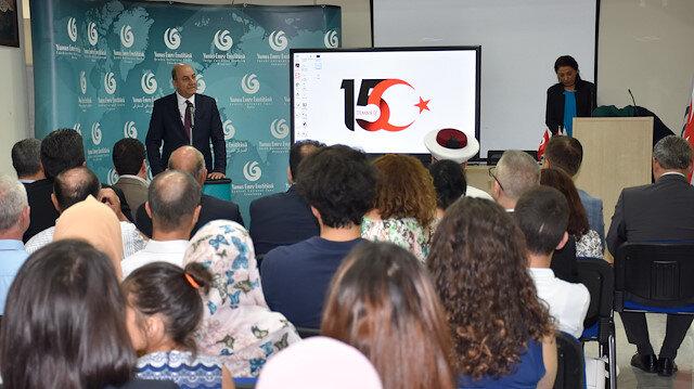 """""""يونس إمره"""" التركي في لبنان يحيي ذكرى شهداء محاولة الانقلاب"""