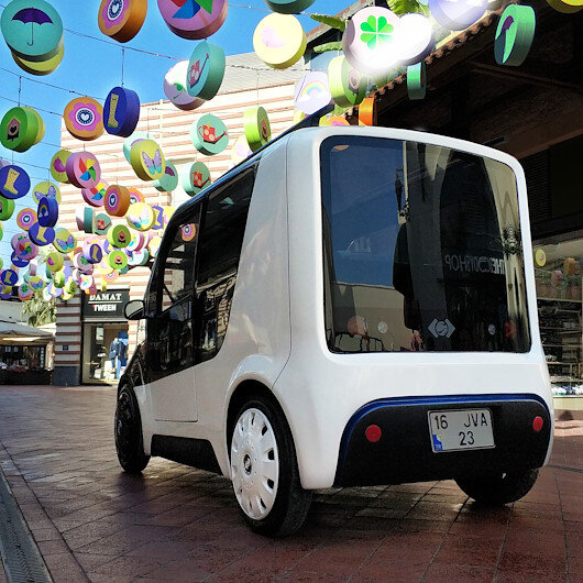 Elektrikli mini aracın prototipi hazır