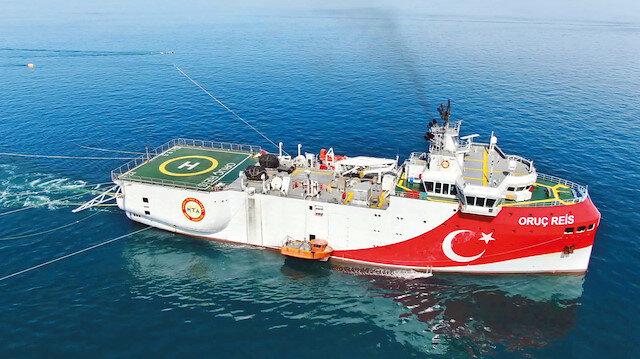  Türkiye'nin milli imkanlarla üretilen ilk sismik araştırma gemisi Oruç Reis, Akdeniz'de kardeşi Barbaros ile hidrokarbon yataklarını tarayacak. Oruç Reis bir süredir Marmara ve Karadeniz'de araştırma yapıyordu.