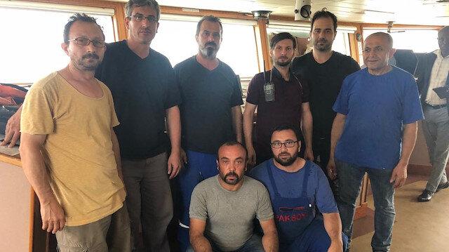 غانا.. طاقم السفينة التركية في أمان وصحة جيدة