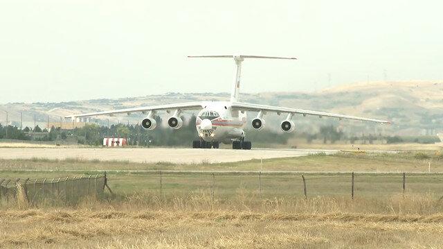 S-400 teslimatında 13üncü uçak Mürted Hava Meydanına indi