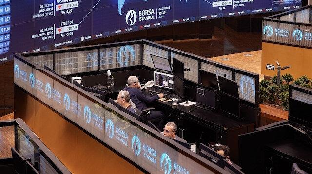 Borsa ilk yarıda yüzde 5,7 değerlendi
