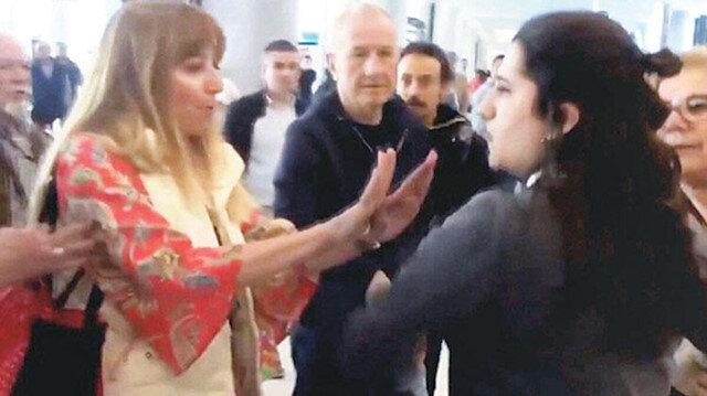 Rötar nedeniyle havalimanı personeline hakaret eden kadına dava açıldı