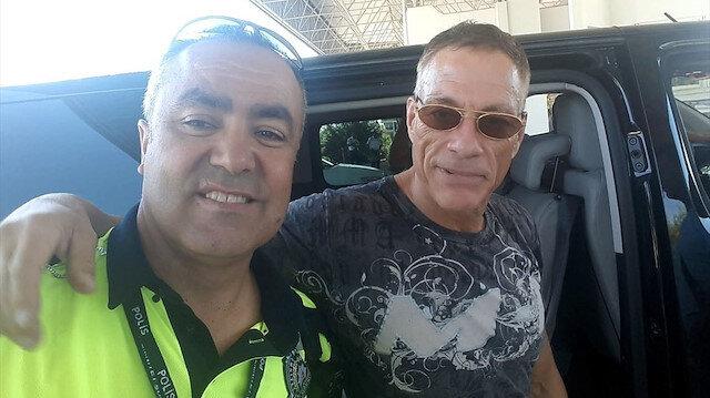 Jean Claude Van Damme Bodrum'da tatil yapıyor