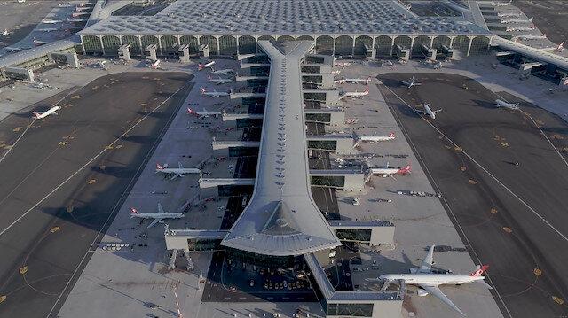 İstanbul Havalimanı'nın son hali havadan görüntülendi