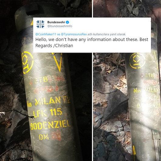 Teröristlerde Alman malı tanksavar çıktı: Silahlı kuvvetler 'haberimiz yok' dedi