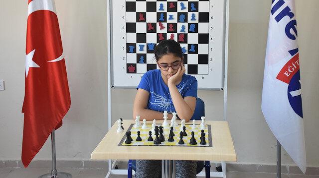 File photo: A Turkish chess player