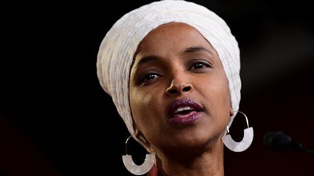 US congresswomen Ilhan Omar