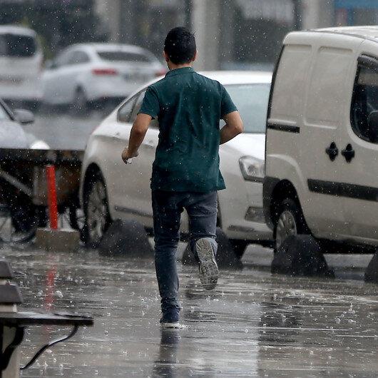 Meteorolojiden 8 ile yağış uyarısı