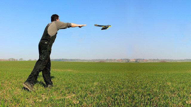 1 adet Sense-Fly-E Bee insansız hava aracı icradan satılıktır.