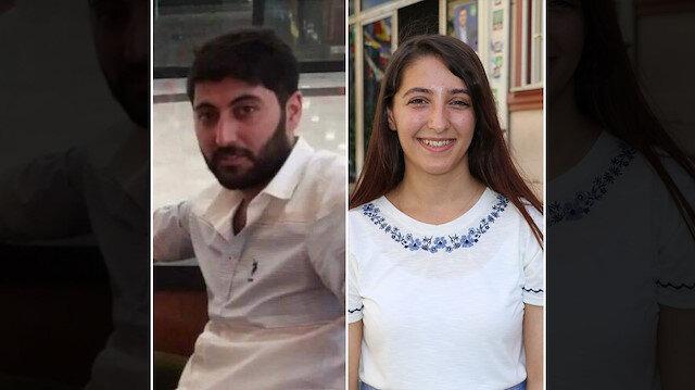 Cinayet zanlısı Mazlum Dağ ve kardeşi HDP Milletvekili Dersim Dağ.