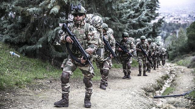 Karacehennem Ormanları bölgesinde hava destekli operasyon gerçekleştirildi.