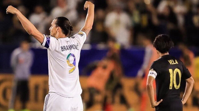 Zlatan Ibrahimovic Los Angelas derbisine damga vurdu