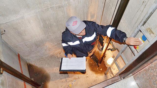 Asansör güvenlik denetimi (Arşiv)