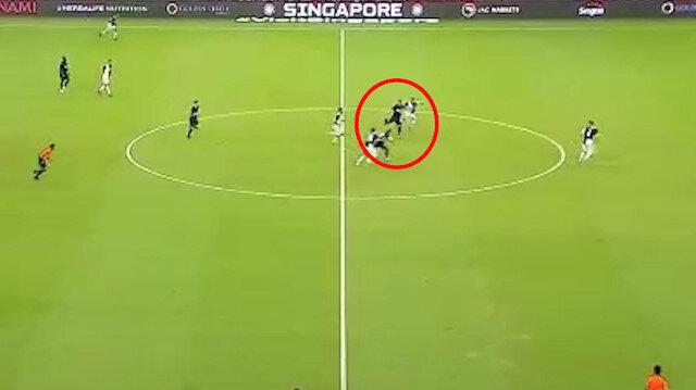 Harry Kaneden inanılmaz gol: Orta sahadan avladı