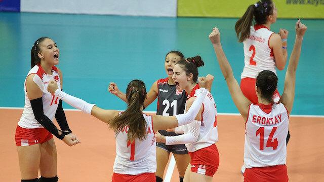 İtalya'yı yenen Türkiye şampiyon oldu