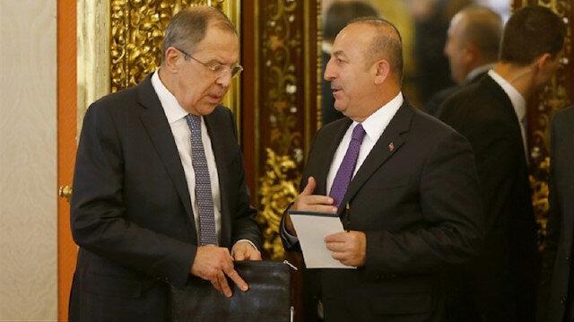 Lavrov - Çavuşoğlu