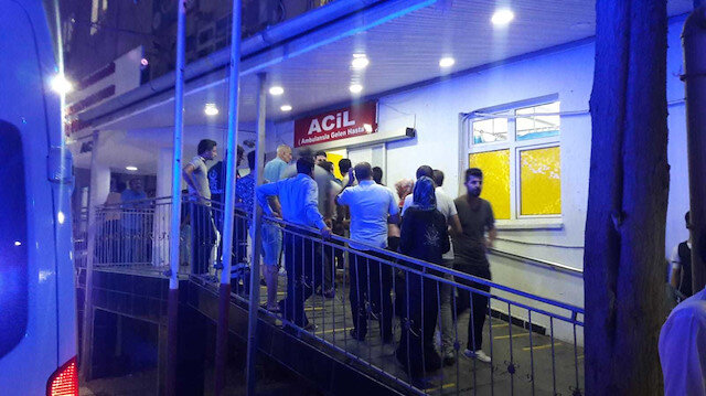 Ceylanpınar'a roket atıldı: 5 yaralı