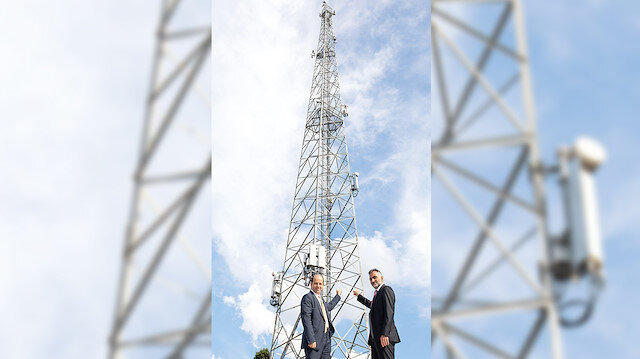 Yerli 5G anten devrede