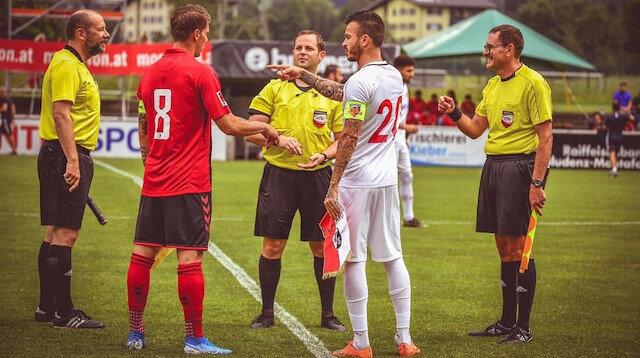Kayserispor, hazırlık karşılaşmasında sahadan 9-1 yenik ayrıldı.