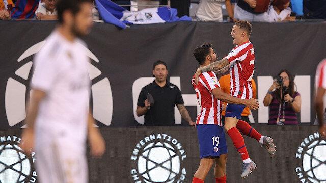 Atletico Madird Real Madrid'i sahadan sildi: 7-3