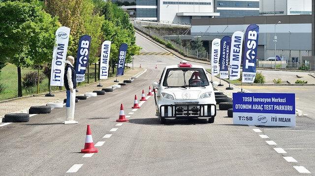 'Sürücüsüz Araç Test Parkuru' devreye alındı.
