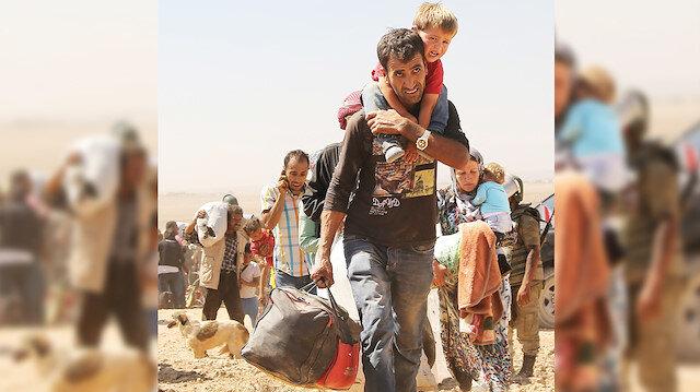 Teşkilata Suriyeli talimatı