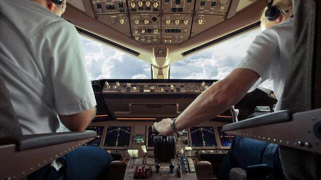Uçağın seferi yasaklandı.