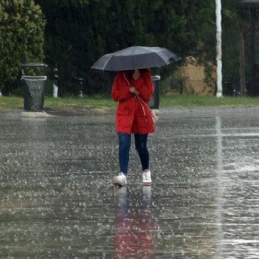 Meteorolojiden 3 ile yağış uyarısı