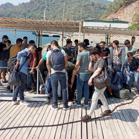 Aydın'da 40 düzensiz göçmen yakalandı