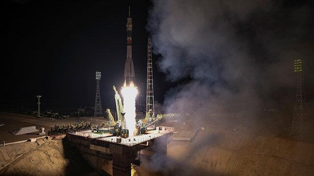 Yakıt, gıda malzemeleri ve diğer kargoları götüren kapsülün, Uluslararası Uzay İstasyonu'na (UUİ) TSİ 18.35'te ulaşması bekleniyor.