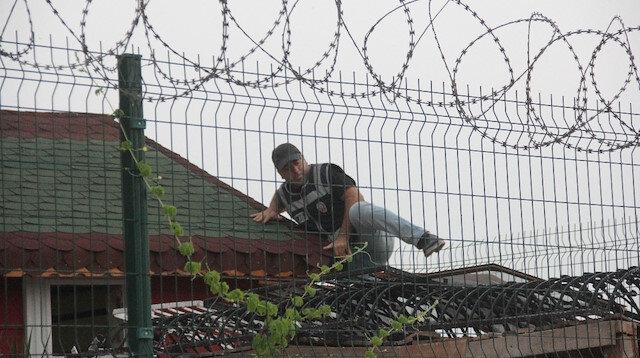 Adana'da pitbullarla korunan şatoya veterinerli baskın