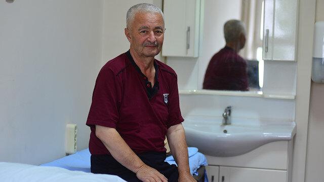 Bir günde beş defa kalp krizi geçiren Kadir Sarıboğa.