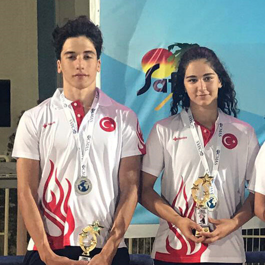Turkey bags medals at Finswimming World Championships