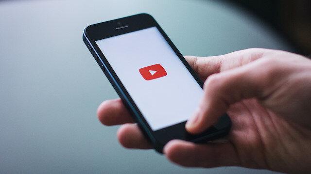 YouTube mobil uygulaması.
