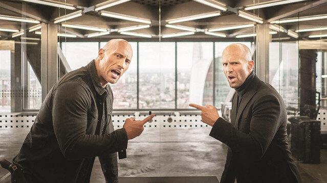 Dwayne Johnson ve Jason Statham