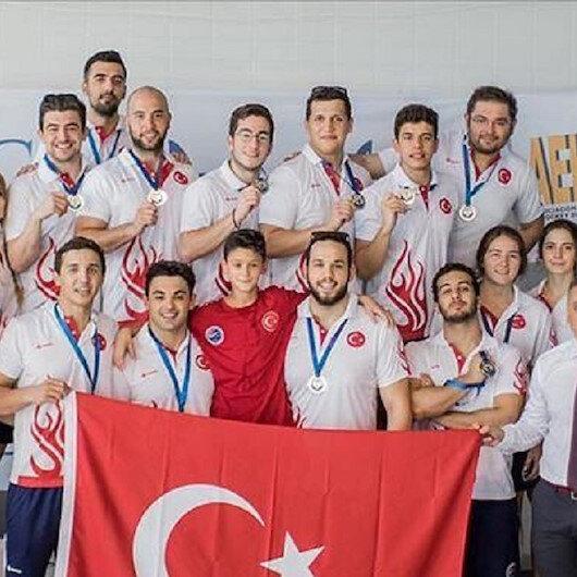 """المنتخب التركي لـ""""الهوكي تحت الماء"""" بطلا لأوروبا"""