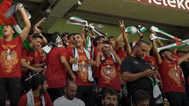 Filistinli gençleri Albayrak ağırladı