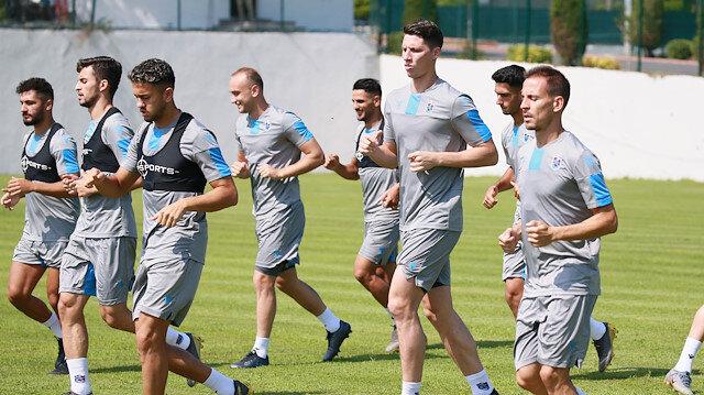 Trabzonspor'da Sparta Prag çalışmaları devam ediyor