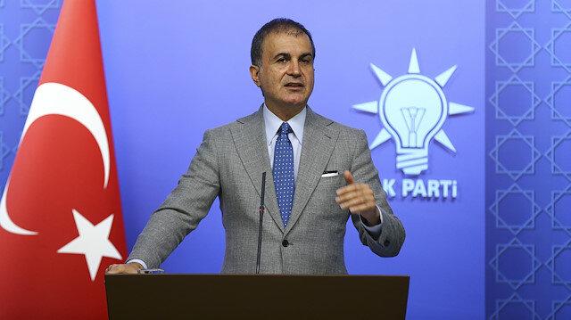 Ak Parti Sözcüsü Ömer Çelik: Türkiyenin ekseni orası yada burası değil Ankaradır