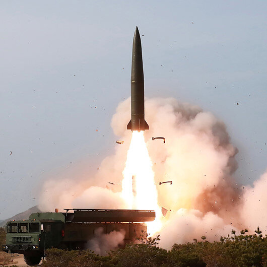 """Pentagon chief says US will not """"overreact"""" to N Korea missile launches"""