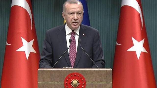 Cumhurbaşkanı Erdoğan: Suriye'de barış koridoru için Amerikalılarla ortak hareket edilecek