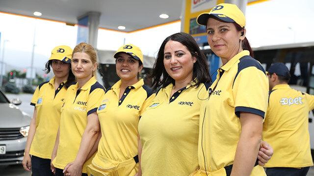 Opet kadın çalışanlar.