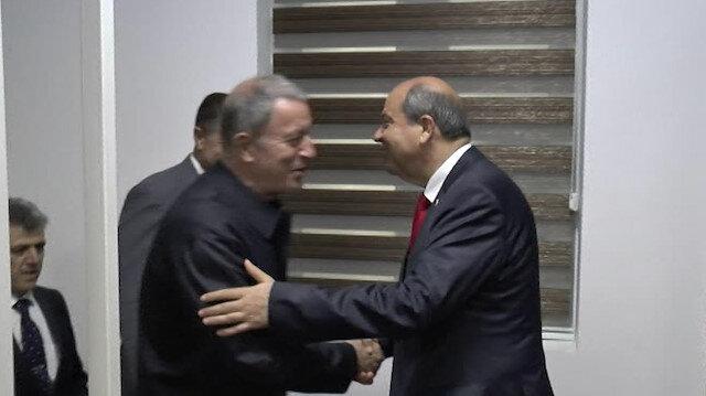Hulusi Akar: Kıbrıs bizim milli davamız
