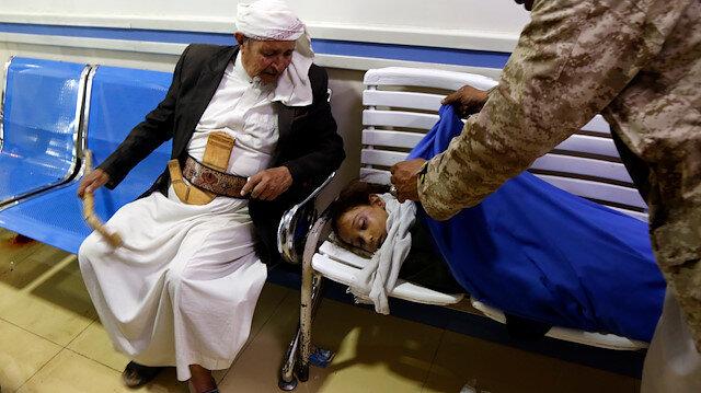 Yemen'de bir yılda 335 çocuk öldürüldü