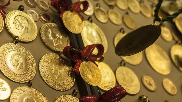 Gram altın 263,4 lira seviyelerinde