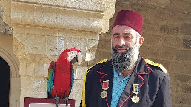 Gürcistan papağanına el koydu